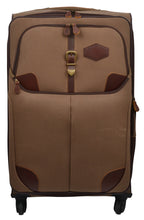 Load image into Gallery viewer, Western Canvas Large Wheeled Roller Luggage