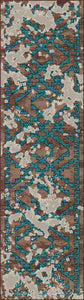 """Distressed Fresco"" Western Area Rugs - Choose from 6 Sizes!"