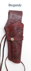 Hand Tooled Leather Holster