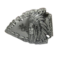 Load image into Gallery viewer, Arrowhead Chief Metal Belt Buckle