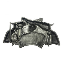 Load image into Gallery viewer, Crossed Pistols Metal Belt Buckle