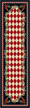 "Load image into Gallery viewer, ""High Country Rooster - Natural/Red"" Southwestern Area Rugs - Choose from 6 Sizes!"
