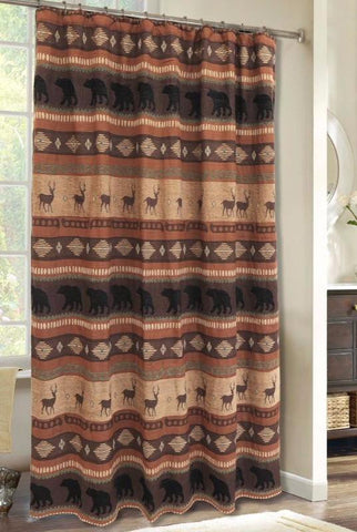 Autumn Trails/Northern Pine Shower Curtain