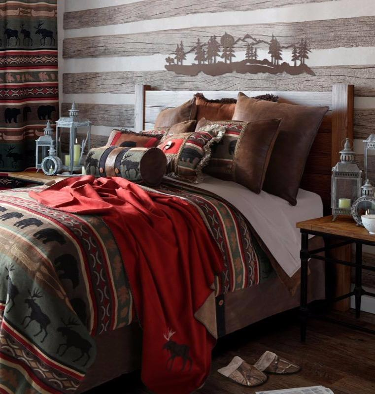 Backwoods Western Bedding Set