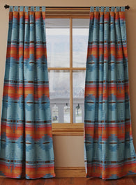 Arizona Style Drapes with Tiebacks
