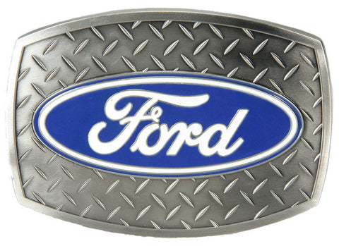 "Ford Diamond Plate Buckle - 3-1/2"" x 2-1/2"""