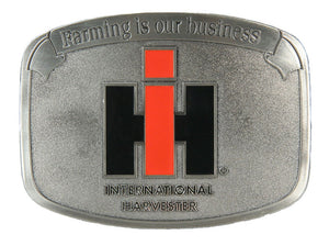 Farming is our Business IH Buckle