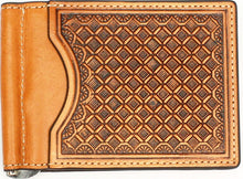 Load image into Gallery viewer, Nocona Leather Money Clips - 4 Colors Available!
