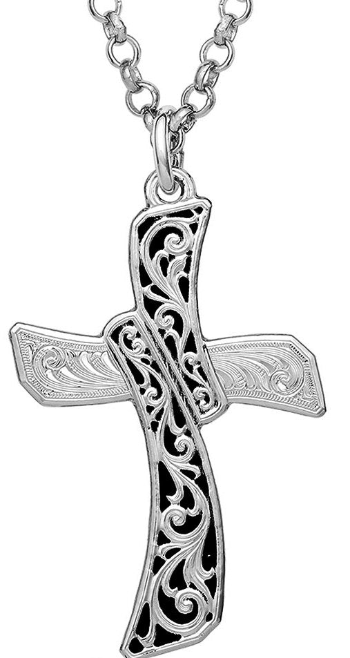 Wilderness Cross Necklace - Made in the USA!