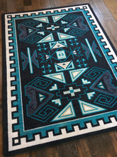 "Load image into Gallery viewer, ""Four Rams - Contemporary"" Southwestern Area Rugs - Choose from 6 Sizes!"