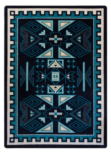 """Four Rams - Contemporary"" Southwestern Area Rugs - Choose from 6 Sizes!"