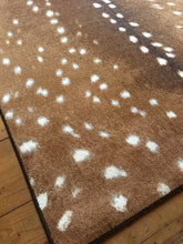 "Load image into Gallery viewer, ""Spotted Hide - Sienna"" Western Area Rugs - Choose from 6 Sizes!"