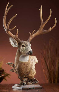 Out of the West – Mule Deer Sculpture