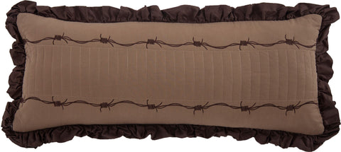 Lone Star Barbwire Quilt Pillow