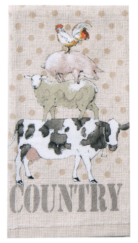 """Farm Life"" Terry Towel"