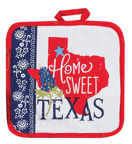 Home Sweet Texas Pot Holder