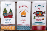 """Camping Life"" Tea Towels - Choose From 3 Styles!"
