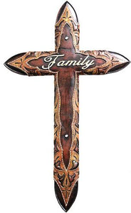 """Family"" Wall Cross - 21"" Tall"