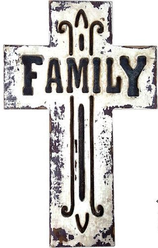 """Family"" Wall Cross - 18"" Tall"