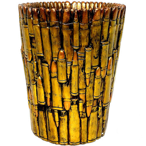 Bullet Trash Can
