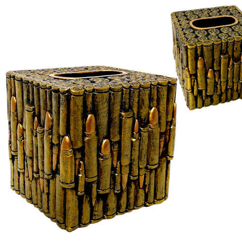 Bullet Square Tissue Box Holder