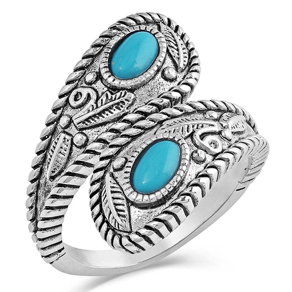 Turquoise Open Ring