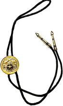 Load image into Gallery viewer, Crossing Pistols & Star Western Tri-Color Bolo Tie