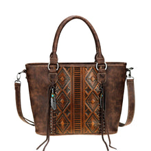 Load image into Gallery viewer, Western Embossed Concealed Carry Tote/Crossbody - Choose from 2 Colors!
