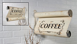Vintage Two Sided Coffee Sign