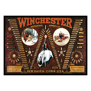 """Winchester Hunting"" Western Area Rug 52"" x 37"""