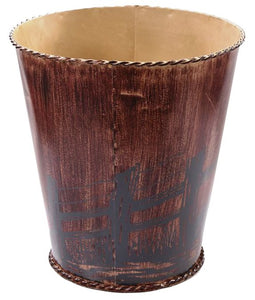 """Western Farmhouse"" Waste Basket"