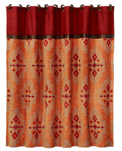 Corrales Sunset Shower Curtain