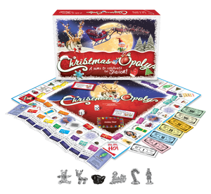 Christmas-opoly Western Board Game