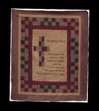"(AHT-QC15302) ""Amazing Grace"" Inspirational Throw"