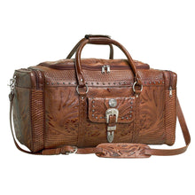 "Load image into Gallery viewer, (AW8565721) ""Retro Romance"" Western Leather Rodeo Bag by American West"