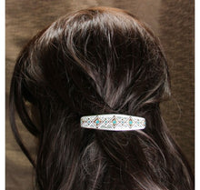 Load image into Gallery viewer, Two Tone Southwestern Beats Barrette