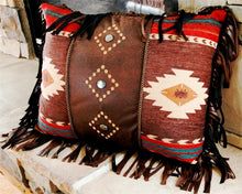 "Load image into Gallery viewer, (CARJB4029) ""Cimarron"" Western Decorative Pillow 16"" x 20"""