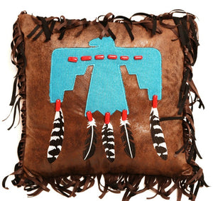 (CARJB6533) Western Thunderbird Accent Pillow