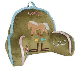 "(CARJLP940) ""Cowgirl"" Western Kid's Lounge Pillow"