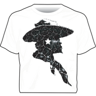 """Cracked Head"" Western Cowboys Unlimited T-Shirt"