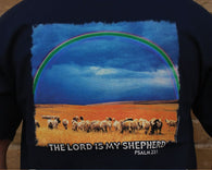 "(CB482) ""Lord is My Shepherd"" Western T-Shirt"