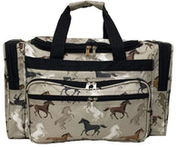 "(CDS-CL2230) ""Free to Roam"" Western 22"" Duffle Bag"