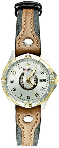 (CDS-TBW1006) Western Ladies' Horseshoe Watch with Leather Band