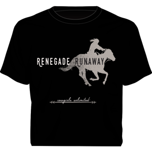 """Renegade Runaway"" Western Cowgirls Unlimited T-Shirt"