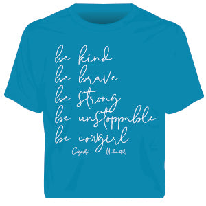 """Be Cowgirl"" Western Faith  T-Shirt"