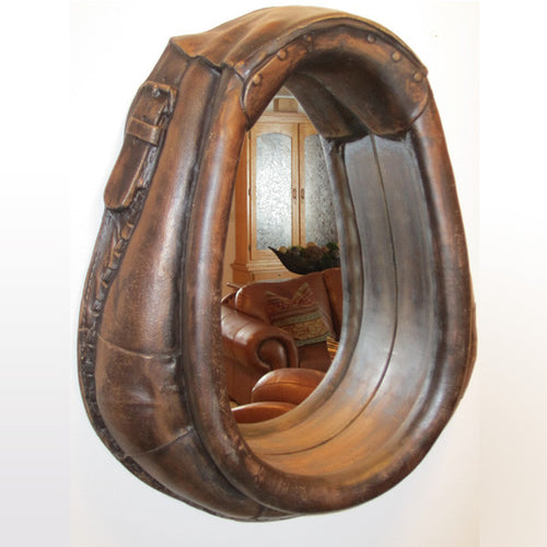 (CHDCM) Reproduction Horse Collar Mirror