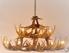 Load image into Gallery viewer, (CHD-W30) Whitetail Deer 30 Antler Chandelier