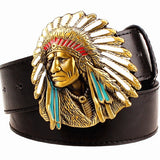 Chief Metal Belt Buckle