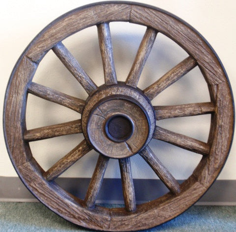 "(CHDWWLG) Reproduction Wagon Wheel - 42"" Diameter"
