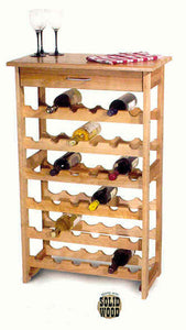 (CS7237) Wine Rack w/36 Bottle Storage